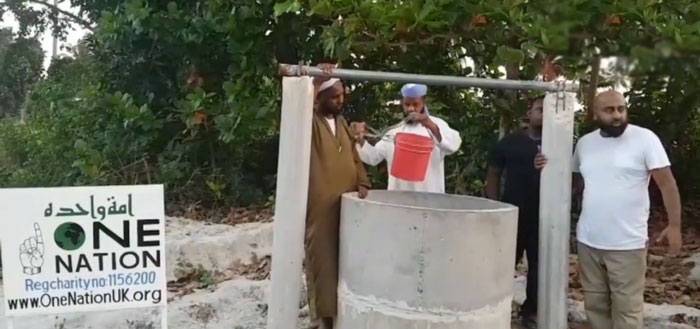 Water Well In Tanzania One Nation